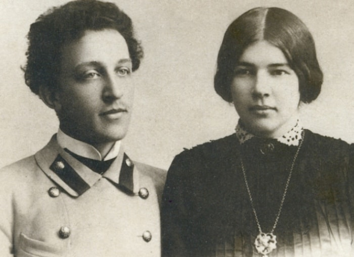 Александр Блок и Любовь Менделеева, 1903 | Фото: liveinternet.ru