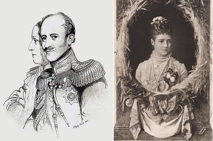 Александр Бенкендорф и его супруга Елизавета Бибикова.